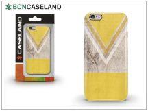 Apple iPhone 6/6S hátlap - BCN Caseland V Neck - yellow