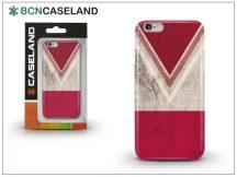 Apple iPhone 6/6S hátlap - BCN Caseland V Neck Rojo - red