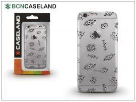 Apple iPhone 7 Plus/iPhone 8 Plus szilikon hátlap - BCN Caseland Eyes - transparent