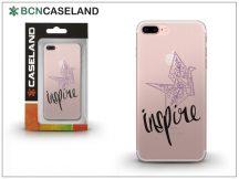Apple iPhone 7 Plus/iPhone 8 Plus szilikon hátlap - BCN Caseland Inspire - transparent