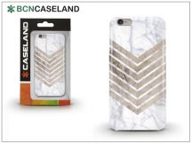 Apple iPhone 7 Plus/iPhone 8 Plus szilikon hátlap - BCN Caseland Wood N Marble