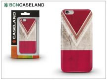 Apple iPhone 7 Plus/iPhone 8 Plus szilikon hátlap - BCN Caseland V Neck Rojo - red