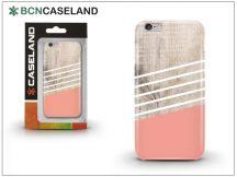 Apple iPhone 7 Plus/iPhone 8 Plus hátlap - BCN Caseland Wooden Lines Rose - pink