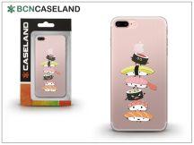 Apple iPhone 6/6S szilikon hátlap - BCN Caseland Sushi Tower - transparent