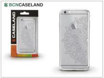 Apple iPhone 6/6S szilikon hátlap - BCN Caseland Vitral Plata - silver/transparent
