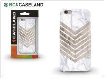 Apple iPhone 7/iPhone 8 szilikon hátlap - BCN Caseland Wood N Marble