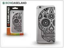 Apple iPhone 7 Plus/iPhone 8 Plus szilikon hátlap - BCN Caseland Calavera - transparent
