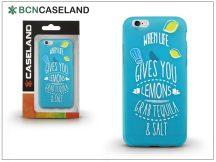 Apple iPhone 6/6S szilikon hátlap - BCN Caseland Lemons - azul