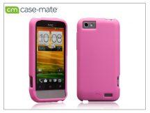 HTC One V hátlap - Case-Mate Smooth - pink