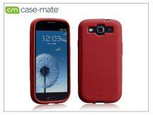 Samsung i9300 Galaxy S III hátlap - Case-Mate Smooth - red