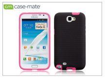Samsung N7100 Galaxy Note II hátlap - Case-Mate Tough - black/pink