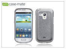 Samsung i8190 Galaxy S III Mini hátlap - Case-Mate Glam - silver