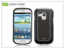 Samsung i8190 Galaxy S III Mini hátlap - Case-Mate Barely There Brushed Aluminium - silver