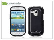 Samsung i8190 Galaxy S III Mini hátlap - Case-Mate Barely There Brushed Aluminium - black