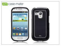 Samsung i8190 Galaxy S III Mini hátlap - Case-Mate Barely There Brushed Aluminium - black