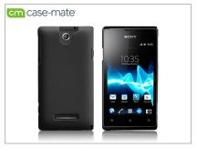 Sony Xperia E (C1505) hátlap - Case-Mate Barely There - black