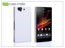 Sony Xperia Z (C6603) hátlap - Case-Mate Barely There - white