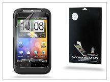 HTC Wildfire S képernyővédő fólia - Clear - 1 db/csomag