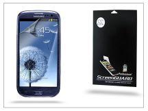 Samsung i9300 Galaxy S III képernyővédő fólia - Anti Finger - 1 db/csomag