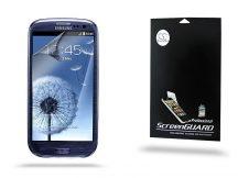 Samsung i9300 Galaxy S III képernyővédő fólia - Clear - 1 db/csomag