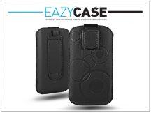 DECO SLIM univerzális bőrtok - Apple iPhone 4/4S/ZTE Blade II - Black - 11. méret