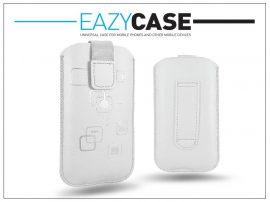 STYLE SLIM univerzális tok - LG P920 Optimus 3D/Sony Xperia Z1 Compact/Samsung G3500 - fehér - 14. méret