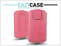 DECO SLIM univerzális bőrtok - Apple iPhone 5/5S/Nokia 225 - pink - 18. méret