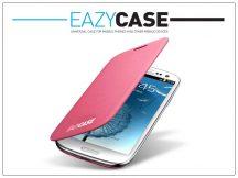Samsung i9300 Galaxy S III flipes hátlap - EFC-1G6FPECSTD utángyártott - pink