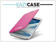 Samsung N7100 Galaxy Note II flipes hátlap - EFC-1J9FPEGSTD utángyártott - pink