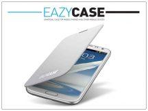 Samsung N7100 Galaxy Note II flipes hátlap - EFC-1J9WEGSTD utángyártott - white