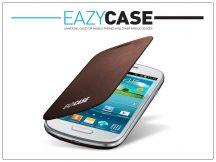 Samsung i8190 Galaxy S III mini flipes hátlap - EFC-1M7FAEGSTD utángyártott - brown
