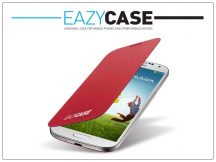 Samsung i9500 Galaxy S4 flipes hátlap - EF-FI950BREGWW utángyártott - red