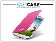 Samsung i9500 Galaxy S4 flipes hátlap - EF-FI950BPEGWW utángyártott - pink