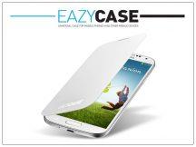 Samsung i9500 Galaxy S4 flipes hátlap - EF-FI950BWEGWW utángyártott - white
