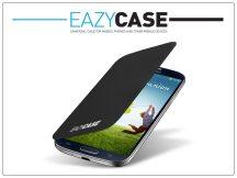Samsung i9500 Galaxy S4 flipes hátlap - EF-FI950BBEGWW utángyártott - black