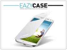 Samsung i9500 Galaxy S4 S View Cover flipes hátlap on/off funkcióval - EF-CI950BWEGWW utángyártott - white