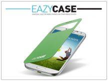 Samsung i9500 Galaxy S4 S View Cover flipes hátlap on/off funkcióval - EF-CI950BGEGWW utángyártott - green