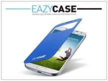 Samsung i9500 Galaxy S4 S View Cover flipes hátlap on/off funkcióval - EF-CI950BCEGWW utángyártott - light blue