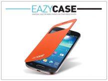 Samsung i9190 Galaxy S4 Mini View Cover flipes hátlap on/off funkcióval - EF-CI919BOEGSTD utángyártott - orange