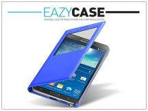 Samsung N9000 Galaxy Note 3 S View Cover flipes hátlap - EF-CN900BVEGWW utángyártott - blue