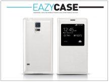Samsung SM-G900 Galaxy S5 S View Cover flipes hátlap - EF-CG900B utángyártott - fehér