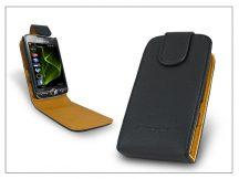 SLIGO flipes bőrtok - Samsung i8000 Omnia II - fekete