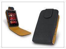 SLIGO flipes bőrtok - Nokia 5530 - fekete