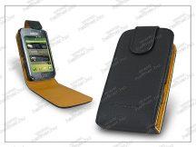 SLIGO flipes bőrtok - Samsung i9000 Galaxy S - fekete