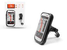 Univerzális kerékpárra/motorkerékpárra szerelhető, vízálló telefontartó - Extreme Scooter-1