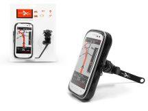 Univerzális kerékpárra/motorkerékpárra szerelhető, vízálló telefontartó - Extreme Scooter-2
