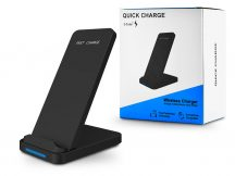 Extreme Qi univerzális vezeték nélküli töltő állomás - 10W - Extreme WR-3 Wireless Charger - Qi szabványos - fekete