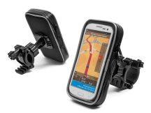 Univerzális kerékpárra/motorkerékpárra szerelhető, vízálló telefontartó - Extreme-177