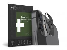 HOFI Metal Camera Sytling hátsó kameravédő borító - Apple iPhone 12 Mini - black