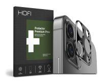 HOFI Metal Camera Sytling hátsó kameravédő borító - Apple iPhone 12 Pro Max - black